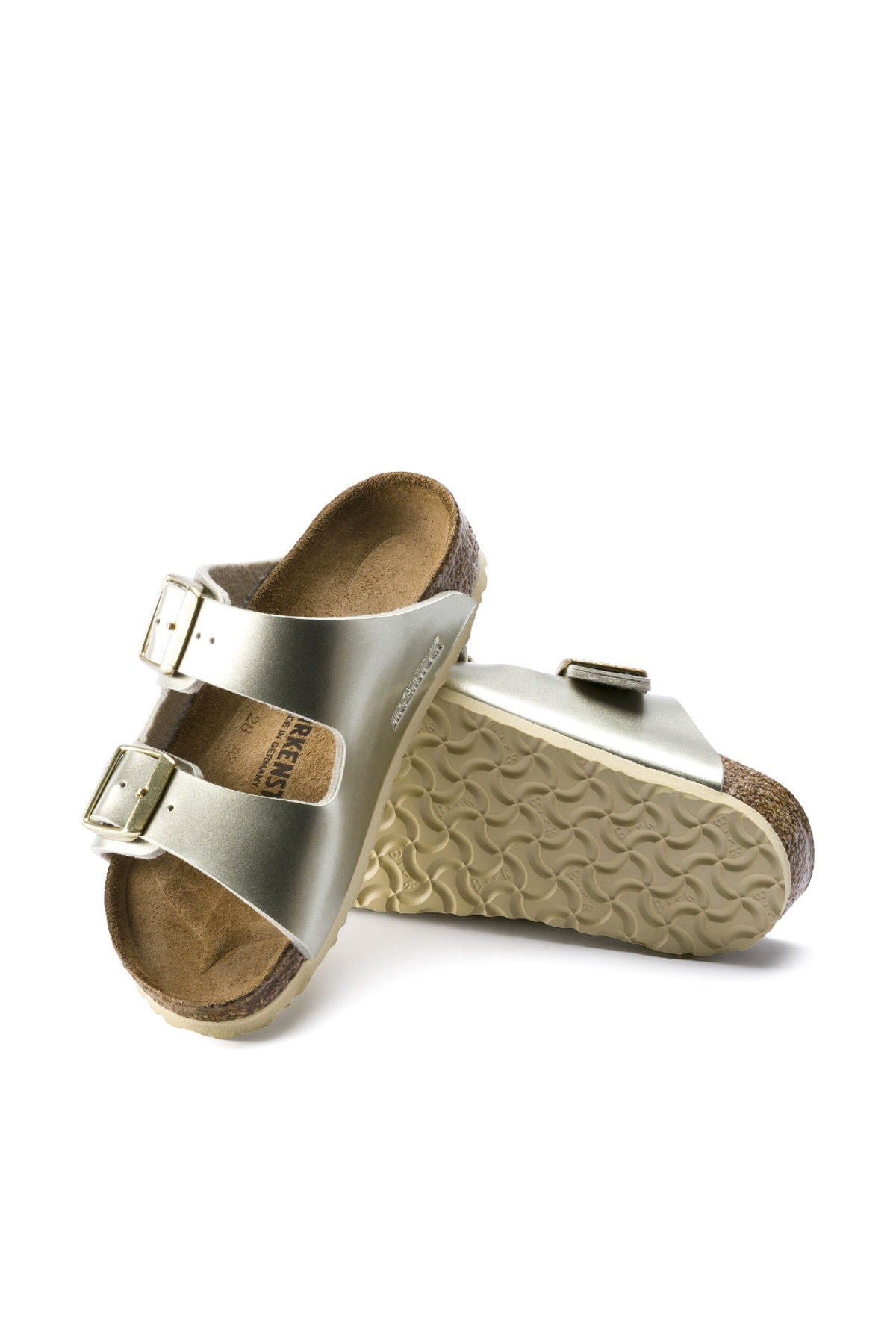 Birkenstock Electrıc Metallıc Gold Arızona Bf Terlik 01014841 2