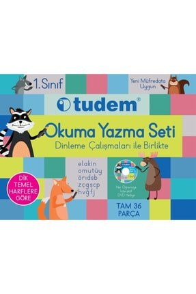 Tudem Yayınları Tudem 1. Sınıf Okuma Yazma Seti