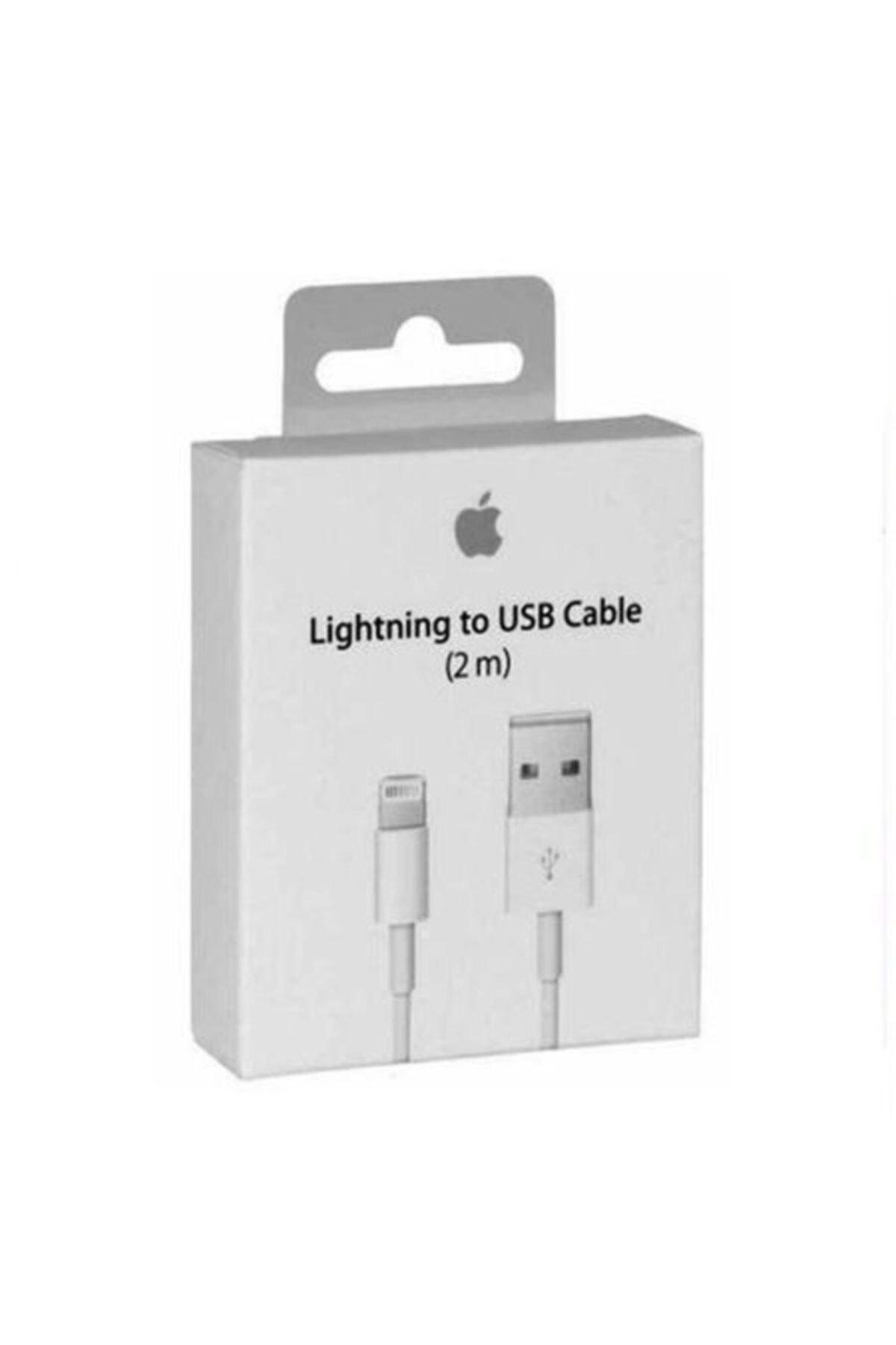 Apple 2 Metre Iphone Şarj Lıghtıng Uyumlu Usb Data Kablosu 5 5s Se 6 6s 6 Plus 7 7 Plus 8 8 Plus X Xs Max 1