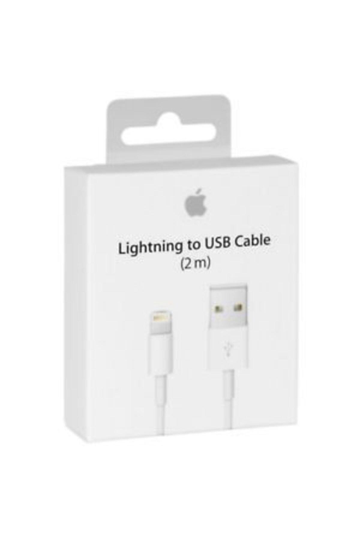 Apple 2 Metre Iphone Şarj Lıghtıng Uyumlu Usb Data Kablosu 5 5s Se 6 6s 6 Plus 7 7 Plus 8 8 Plus X Xs Max 2