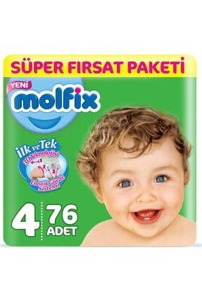 Molfix Bebek Bezi 4 Beden Maxi 76x4:304 Adet