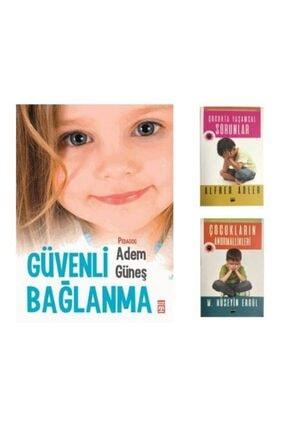 Timaş Yayınları Güneş Gibi Set - Güvenli Bağlanma, Çocukta Yaşamsal Sorunlar, Çocukların Anormallikleri