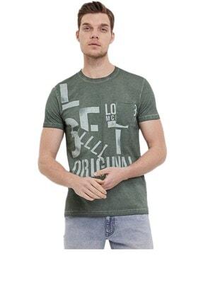 Loft Erkek Haki Yarım Kolu Tişört 2020600