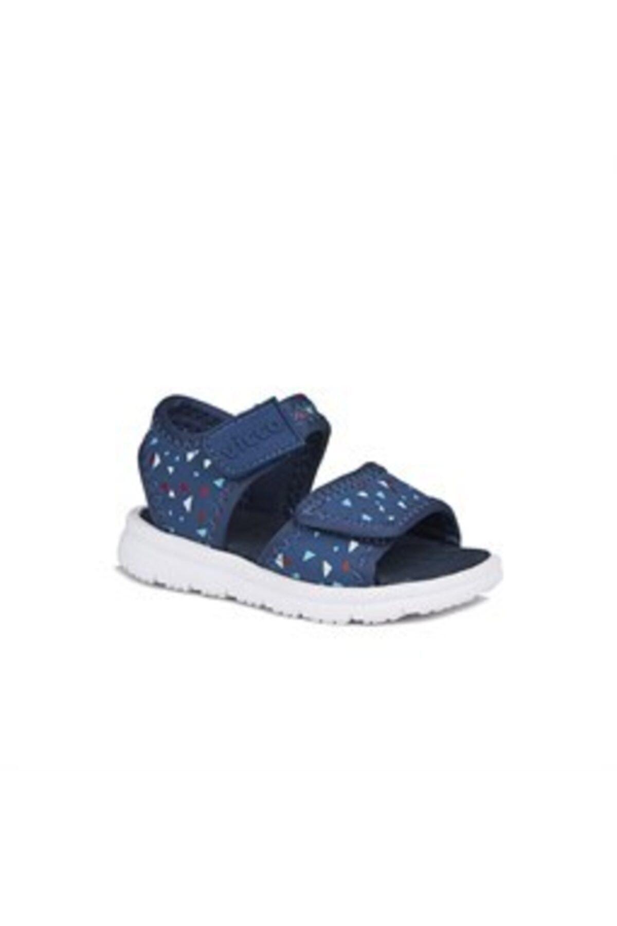 Vicco Unisex Çocuk Lacivert Günlük Sandalet Terlik 2