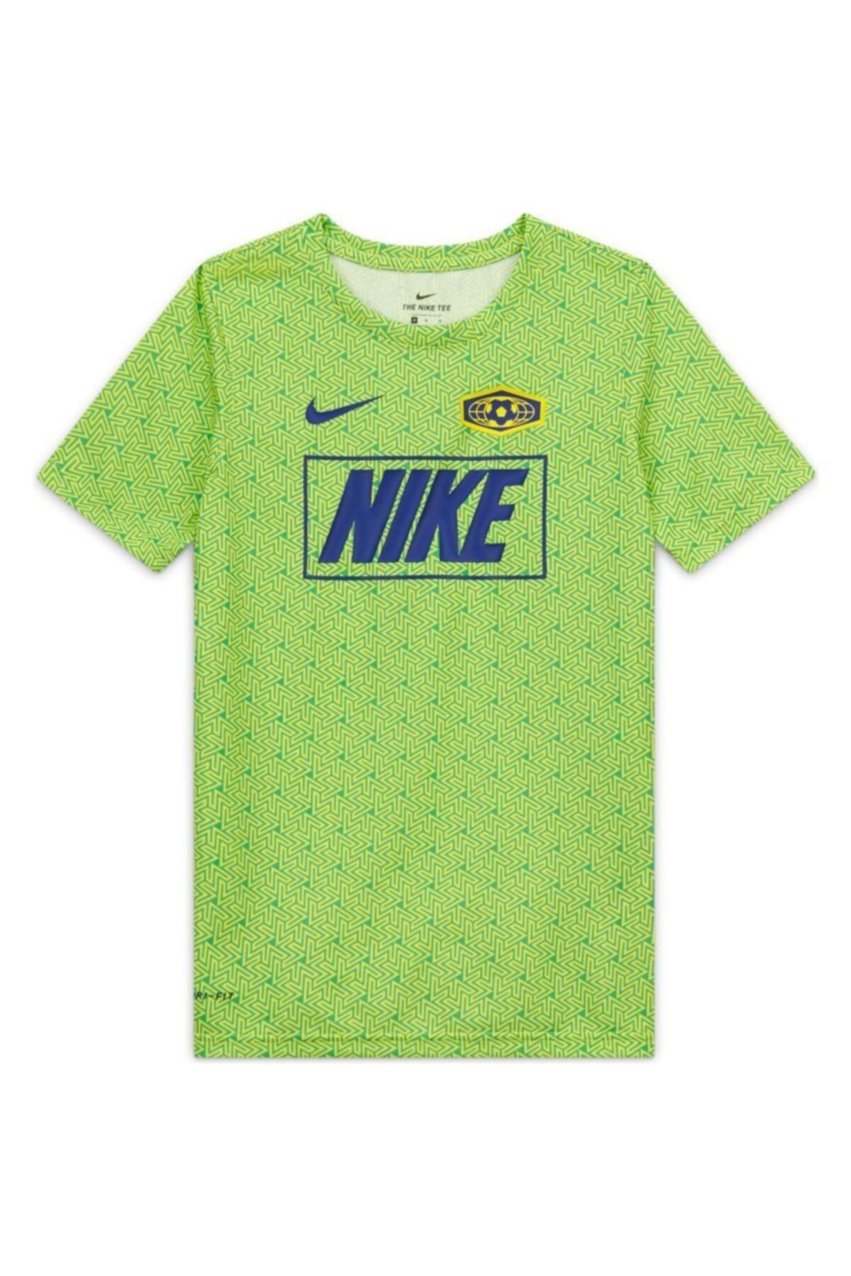 Nike Kids Unisex Çocuk Yeşil Tişört 2