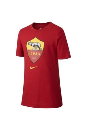 Nike Nıke A.s. Roma Big Kids'  Unisex Çocuk Bordo & Renkli Baskılı  T-Shirt