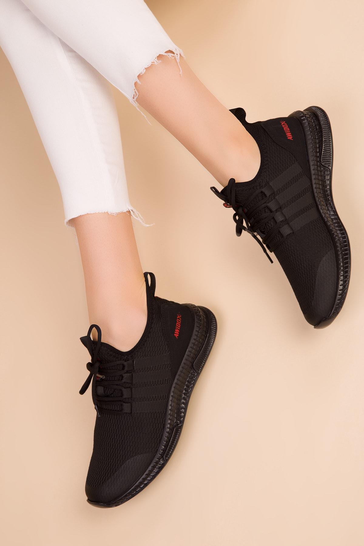 SOHO Siyah-Siyah Kadın Sneaker 15195