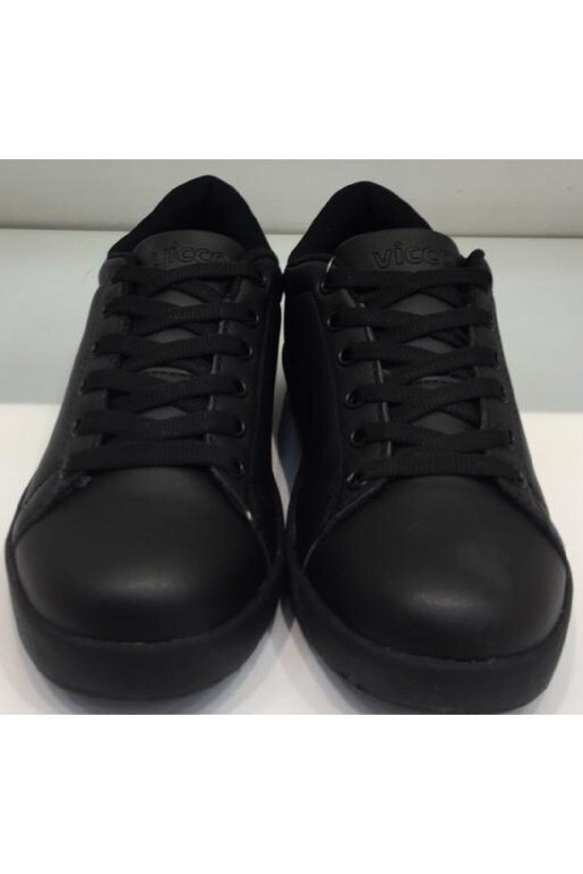Vicco Kadın Siyah Günlük Spor Ayakkabı 1