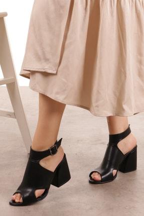 Mio Gusto Teresa Siyah Topuklu Ayakkabı