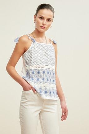Mudo Kadın Beyaz Bluz 377269