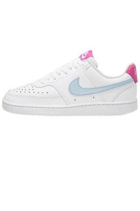Nike Kadın Beyaz Court Vision Sporayakkabı Cd5434-104