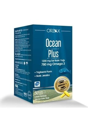 Ocean Plus 1200 Mg 50 Kapsül