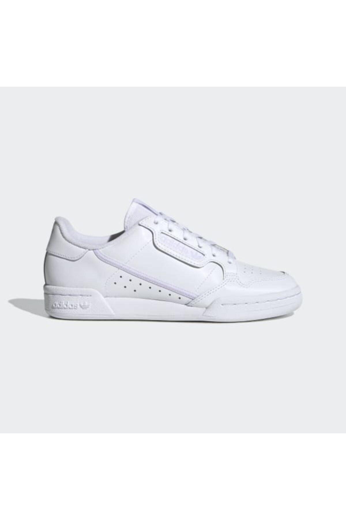 adidas Kadın Beyaz Spor Ayakkabı Ef5114  Continental 80 1