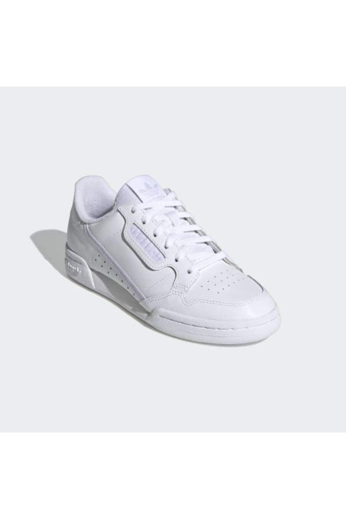adidas Kadın Beyaz Spor Ayakkabı Ef5114  Continental 80 2