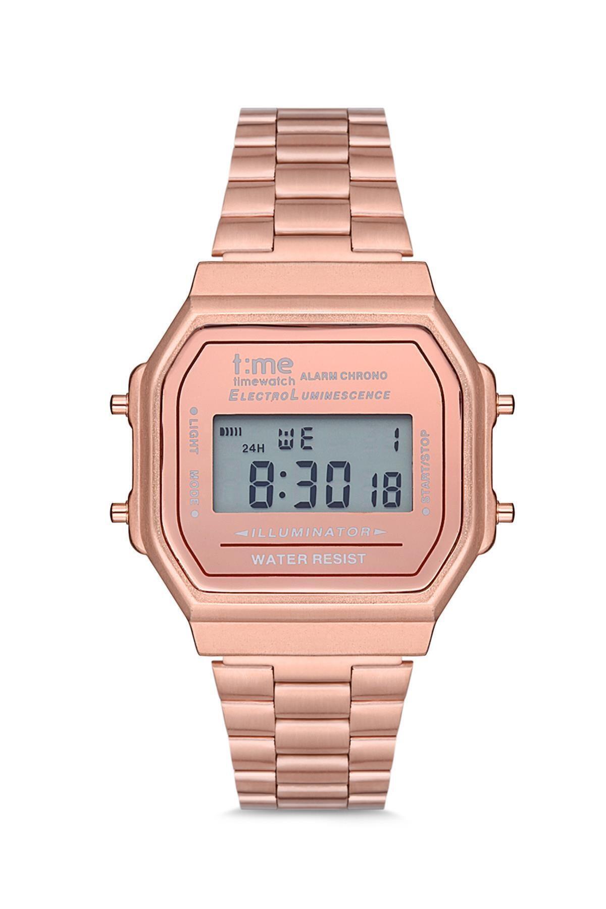 Timewatch Unisex Kol Saati Tw1242rrr Metal Rose 1
