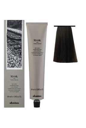 Davines Mask Vibrachrom Saç Boyası 5,14 Açık Kahve Küllü Bakır 100 ml