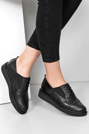 G.Ö.N Gön Hakiki Deri Kadın Günlük Ayakkabı 24084