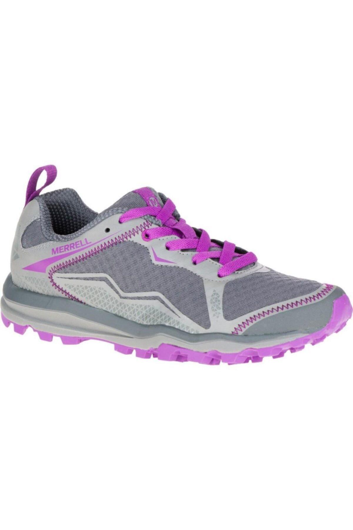 Merrell Kadın Gri Mor Spor Ayakkabı 1