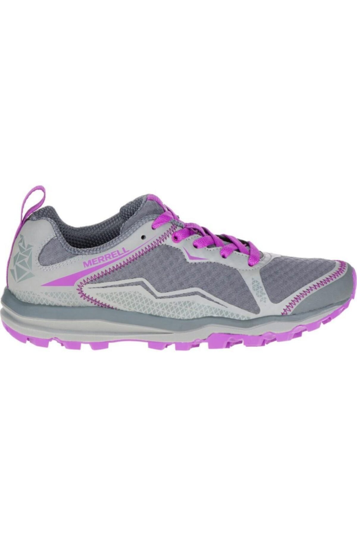 Merrell Kadın Gri Mor Spor Ayakkabı 2