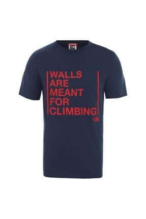 THE NORTH FACE Erkek Walls Are For Climbing T-Shirt  T93s3sn4l