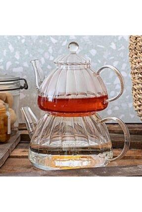 ACAR Cam Çaydanlık Takımı 2300 Ml