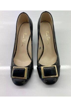 Pierre Cardin Kadın Siyah Günlük Hakiki Deri Topuklu Ayakkabı 1711500