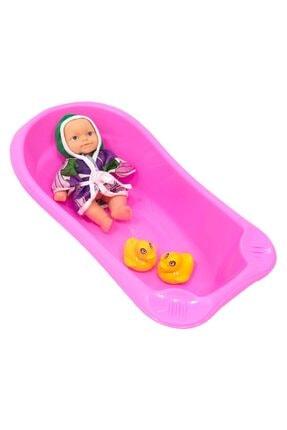 Can Toys Küvetli Bornozlu Bebek