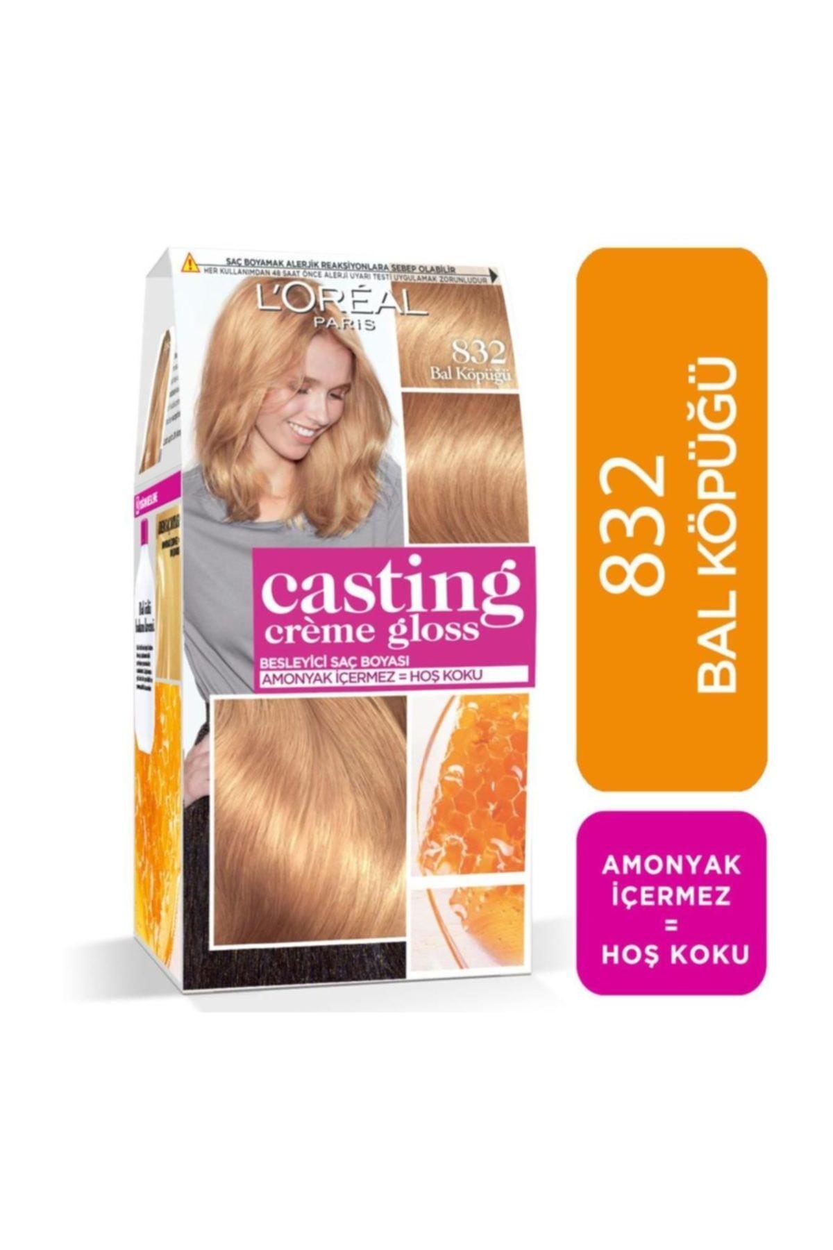 L'Oreal Paris Saç Boyası - Casting Creme Gloss 832 Bal Köpüğü 3600523291502 1