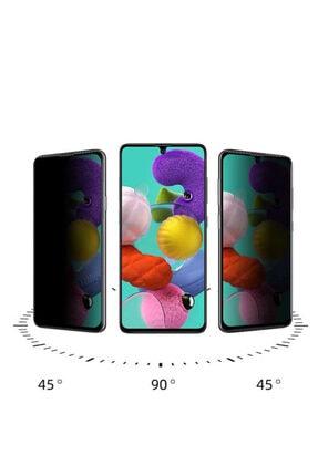 Samsung Note 10 Lite (a81) 5d Privacy Hd Tam Kaplayan Hayalet Cam Ekran Koruyucu Screensaver