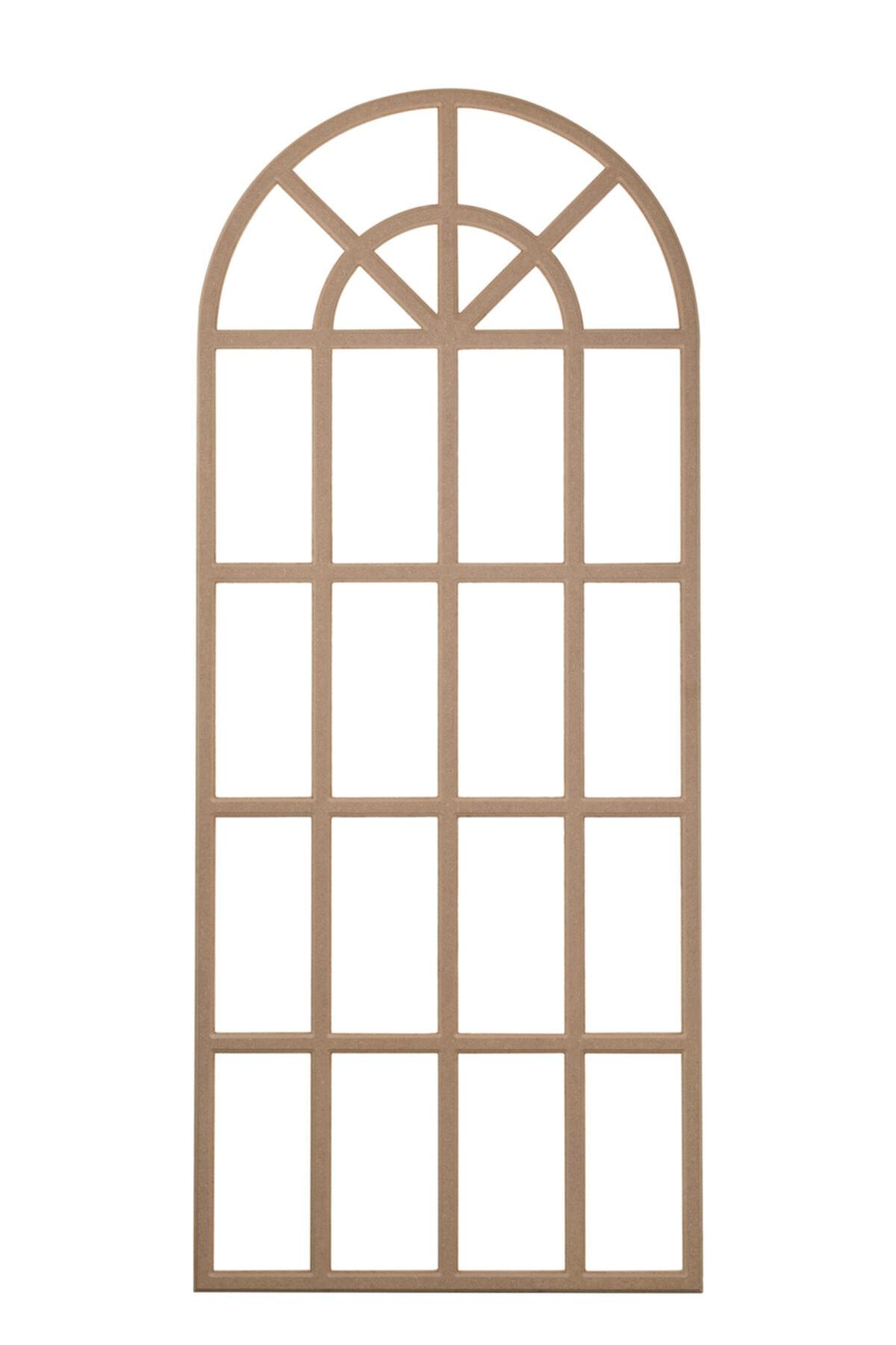 Rafhomestore Dekoratif C1 Uzun Çerceve ( 75x190 cm ) Duvar Çerçeve Ham Mdf 1