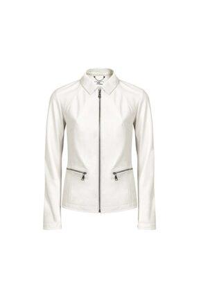 Desa Kadın Beyaz Deri Ceket 40289