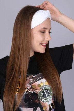 Mi&So Kadın Beyaz Düz Renk Saç Bandı Scbnd-1001