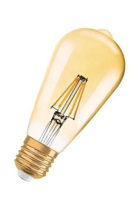 Osram Led Vintage Gold Edison Sarı Işık 410Lm E27 Duy 4W 35 Watt Ampul