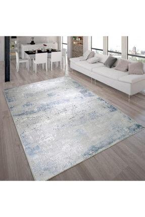Alpina Picasso Mavi ve Gri Antialerjik Halı 2636cgkx88
