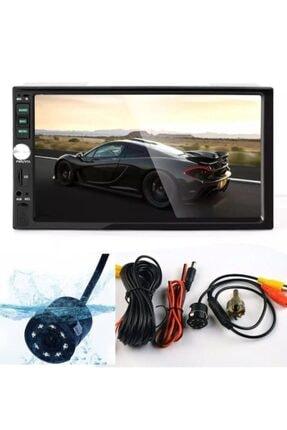 King Double Din Oto Teyp 7 Inç Ekranlı Mirrorlinkli 1080p Çözünürlük