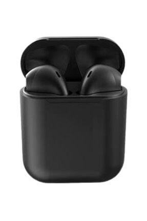 Orçun Özkarlıklı Airpods I12 Tws Siyah Iphone Android Universal Bluetooth Kulaklık Hd Ses Kalitesi