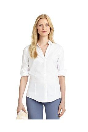 BROOKS BROTHERS Kadın Beyaz Slım Gömlek