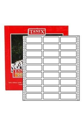 Tanex 20*55 Sürekli Form Etiket