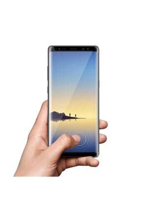 Bufalo Samsung S8 Plus (G955) Kavisli 4D Cam  Şeffaf Ekran Koruyucu