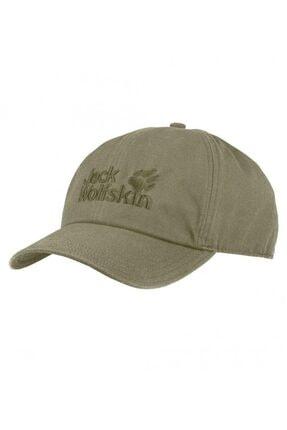 Jack Wolfskin Unisex Haki Baseball Cap Şapka 1900671-4288