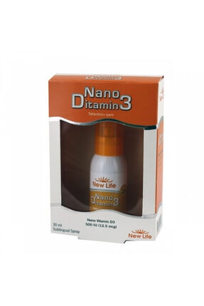New Life Nano Ditamin3 30 Ml Oral Sprey