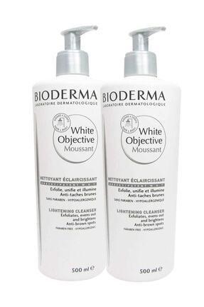 Bioderma 2'li Cilt Temizleme Köpüğü - White Objective Foaming Cleanser 500 ml 8699956511009