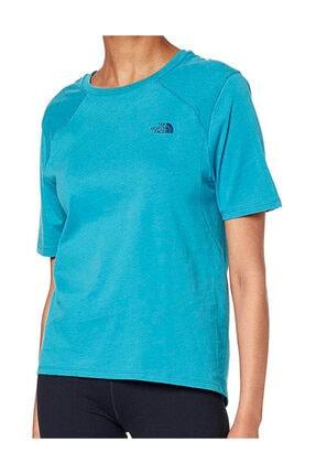 THE NORTH FACE Kadın Mavi W S/s Premıum Sımple Dome T-shirt