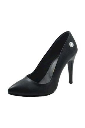 Mammamia Kadın Siyah Topuklu Ayakkabı 39 D20ya-3845-e