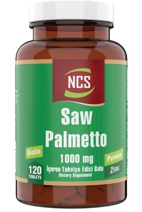 NCS ® Cüce Palmiye 1000 Mg 120 Tablet Saw Palmetto