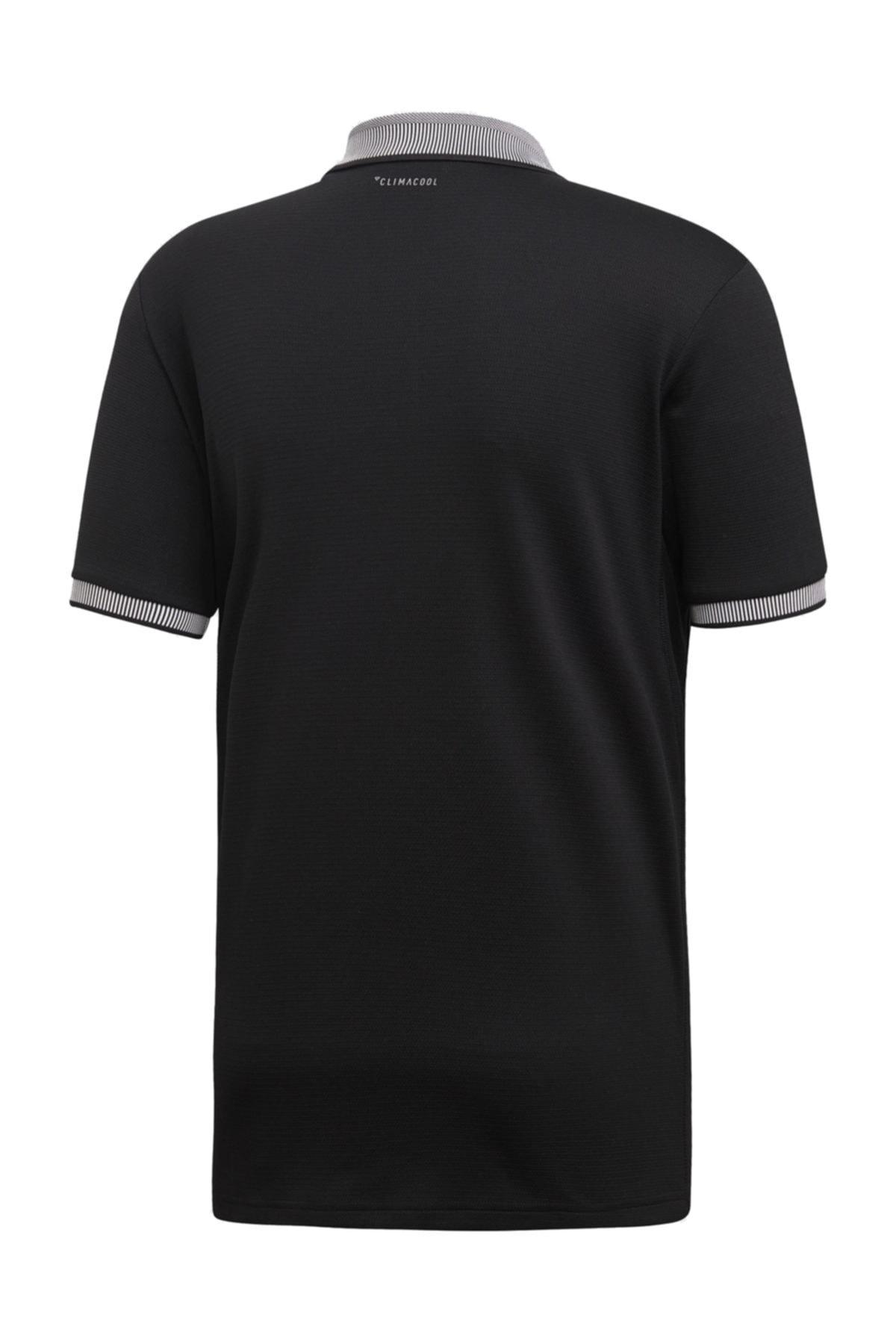 adidas Erkek Siyah Club Solid Polo  Tişört 2