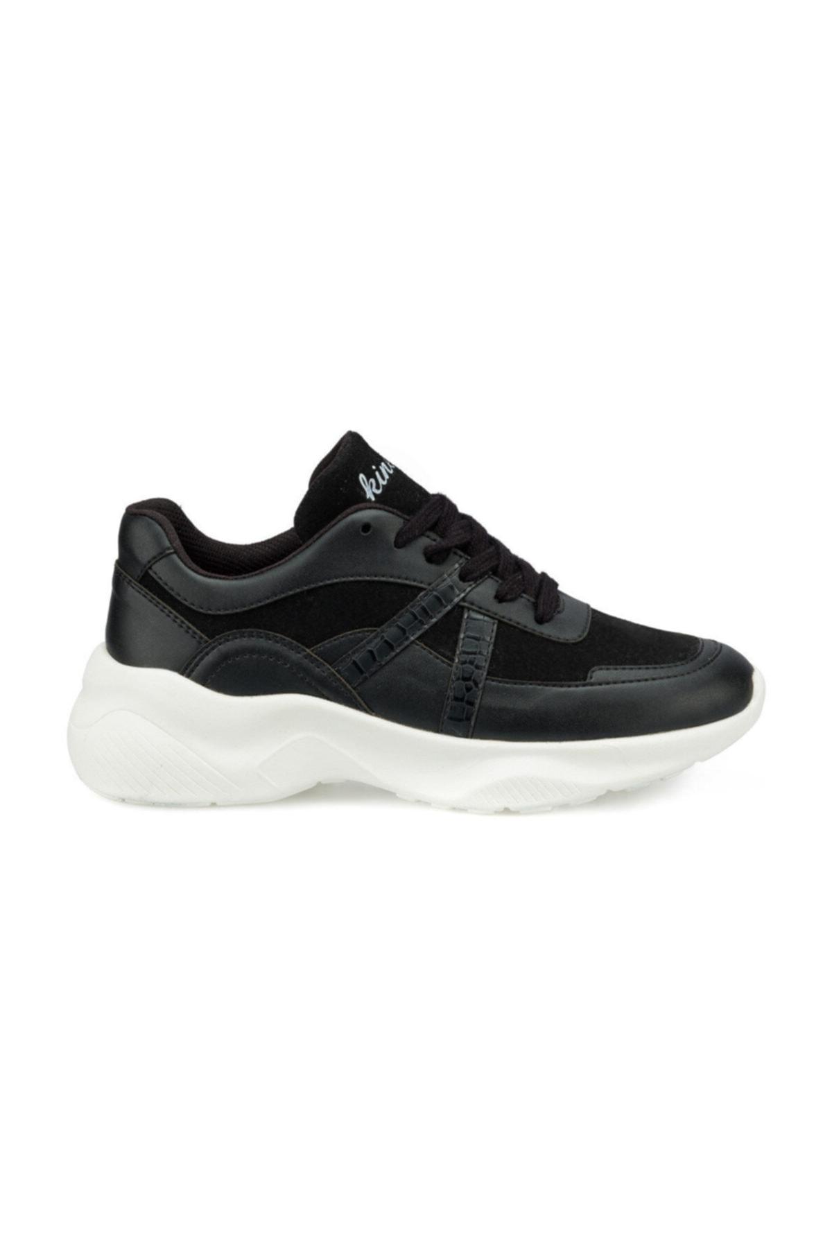 Kinetix AYEW Siyah Kadın Sneaker Ayakkabı 100495617 2