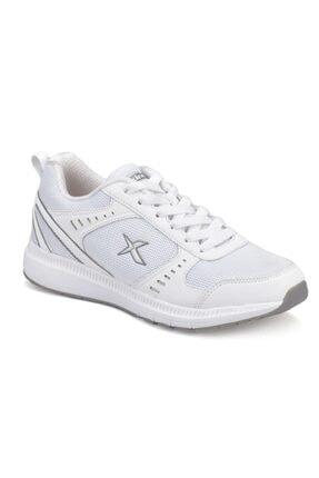 Kinetix Kadın Beyaz Gri Fitness Ayakkabısı 000000000100306878