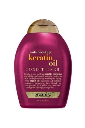 OGX Jellian Kırılma Karşıtı Keratin Saç Kremi 385 ml 022796977526