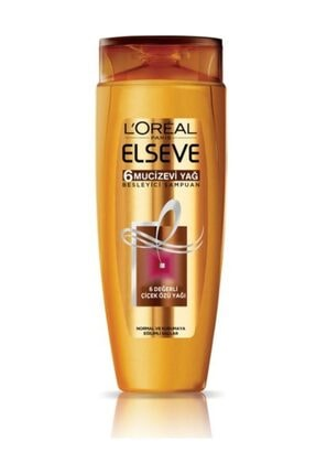 ELSEVE 6 Mucizevi Yağ Besleyici Bakım Şampuanı 520 ml